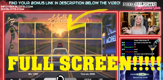 HOTLINE FULL SCREEN WIN! Amazing spin by Eva