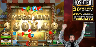 Roshtein - BEST BONUS ON HOT CHILLI SLOT!
