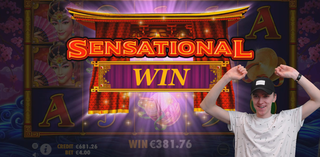 Nice surprise win on PEKING LUCK by Pragmatic