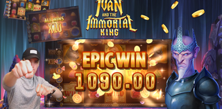 Epic win on Ivan and the Immortal King slot