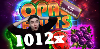 Opal Fruits Big Time Gaming ★First 1000x for GEorGE