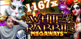 White Rabbit ★BIG WIN★ 1167x for GEorGE