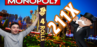 Monopoly Live (Evolution Gaming) - 211x for GEorGE