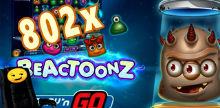 Reactoonz by Play'n GO ★Big Slots Win★ 802x for Chair