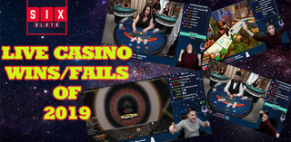 Best Live Casino Wins and Fails of 2019