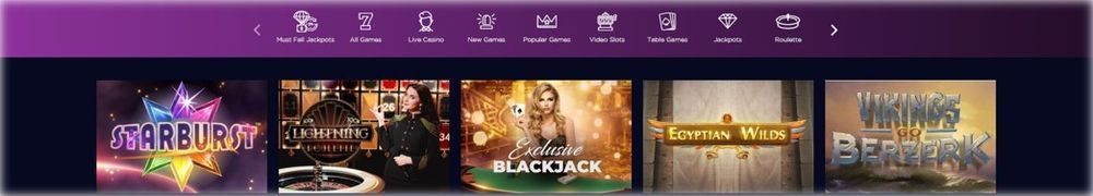 Genesis Casino game collection
