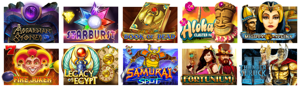 The most popular slots at Casiplay