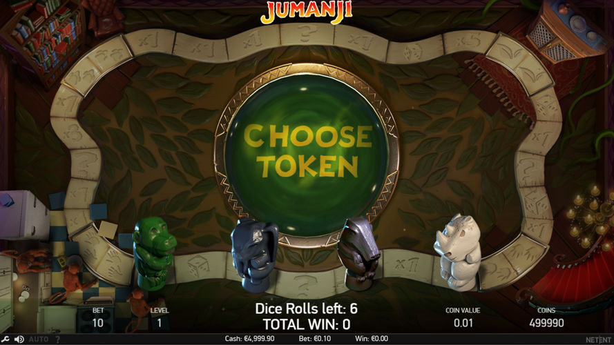 Jumanji bonus game_NetEnt review