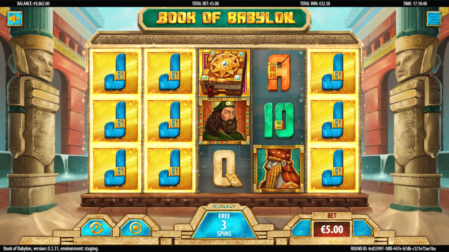 book of babylon free spins