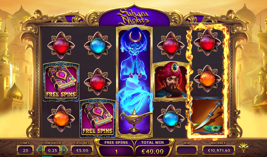Free spins and wilds