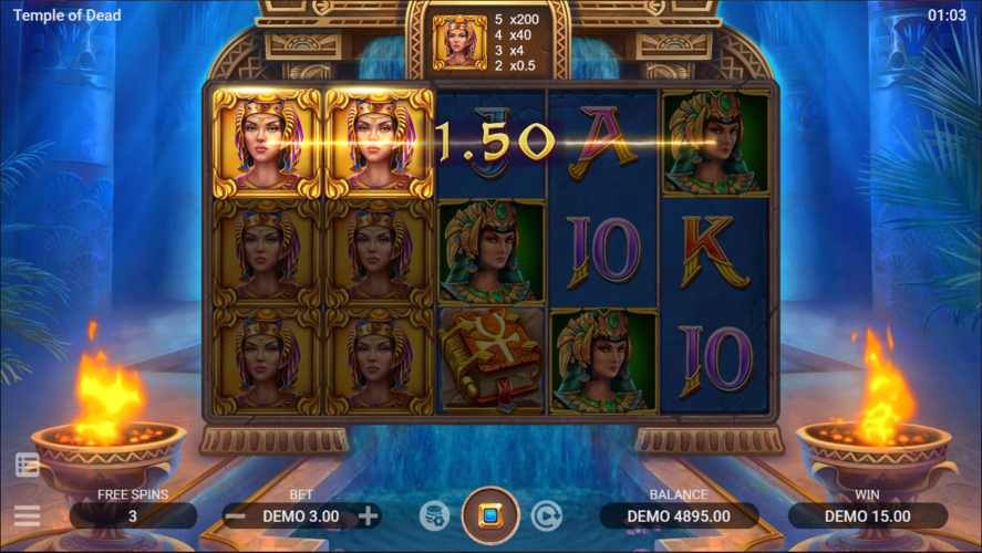 Temple of Dead Free Spins
