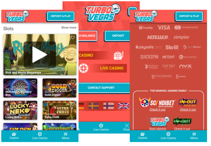 TurboVegas mobile casino