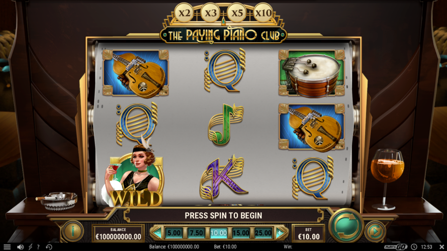 the paying piano club main game