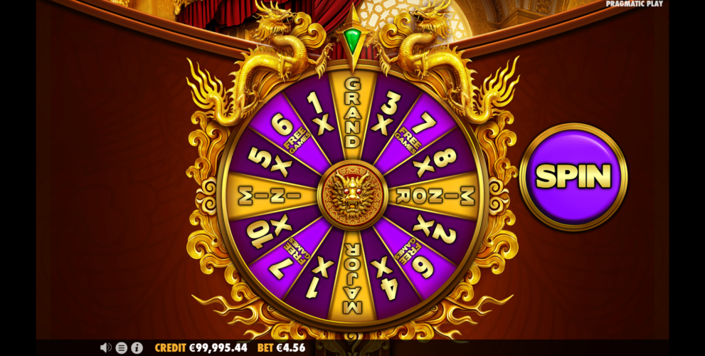 temujin treasures wheel of fortune